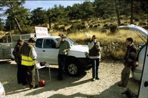 2007, la halte au col de Bleine