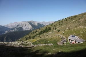 2011, la cabane et le parc de la montagne de Claï