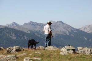 2011, Jean-Paul Loquès à la montagne de Claï