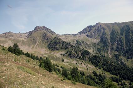 2011, la montagne de Claï (St-Etienne-de-Tinée)