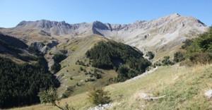 2014, la montagne de l'Alpe de Péone