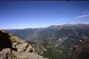 les sommets vus de la Marta, 2008