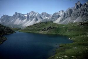 le lac Long des Cerces, 1986