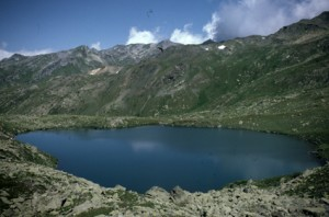 le lac Rond, 1986