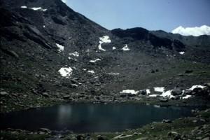 le lac des Muandes, 1986