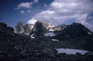 le Mont Thabor vu du col des Muandes, 1986