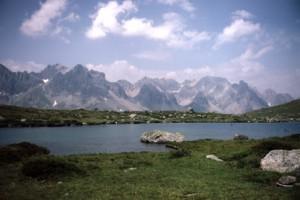 le lac Laramon, 1986
