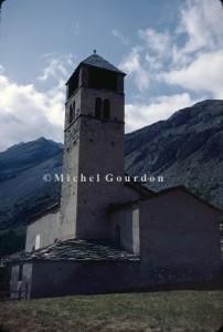 l'église de Maurin, 1983