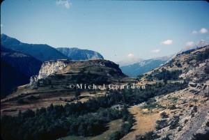le Chastelet sur la route de Fouillouse, 1983