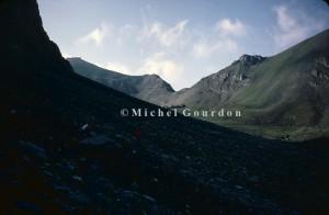 le Col de Mallemort au-dessus de Larche, 1983