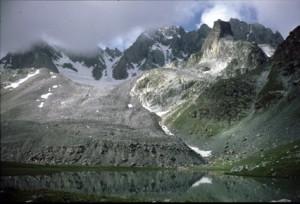 Lac & glaciers du Marinet, 1988