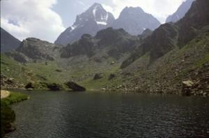 le Viso et le lac Fiorenza