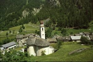 le village de Chialvetta, 1990