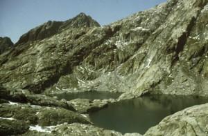 1982, les lacs Bessons