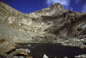 1986, le lac de l'Agnel