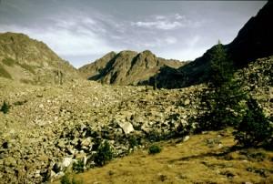 1986, la cime du Mercantour