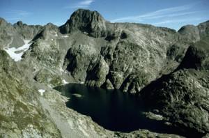 1982, le lac Long et le sommet de la Malédie