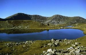1986, un des lacs de Prals