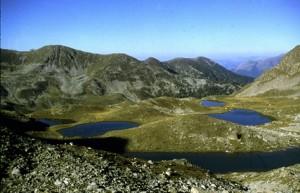 1986, les lacs de Prals (2269m)