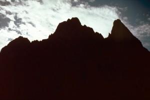1986, le Mont Colomb (2816m)