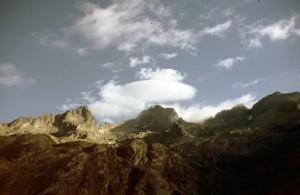 1986, vue prise du Mont Colomb
