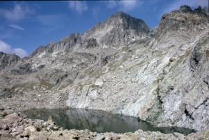 1986, le lac Cabret et le Mont Colomb