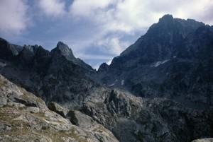 1986, le Pas du Mont-Colomb et le Mont Colomb (2816m)