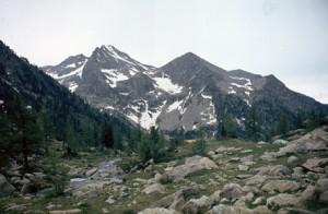 1983, vers le lac de Tres Colpas