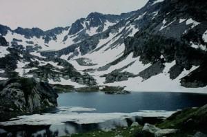 1983, le lac de Tres Colpas (2150m)