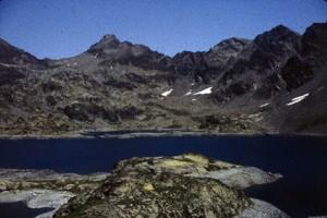 1981, le lac du Rabuons (2500m)