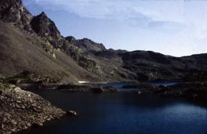 1981, le lac du Rabuons