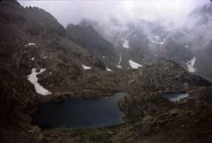1981, le lac de la Montagnette