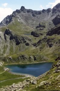 Lac Bleu & lac Noir, haute vallée de la Varaita, 1999