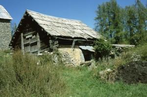 Beuil, grange à Bergians