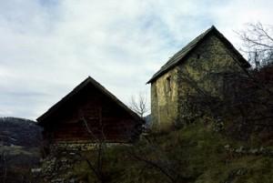 Beuil, maison rurale et grange à Mantelé