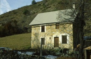 Beuil, maison rurale à la Moute