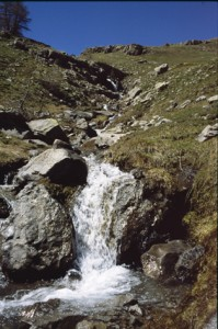 le torrent de la Boucharde, 2001