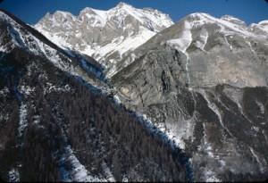 cime de Châteauvieux 2380m, 1984