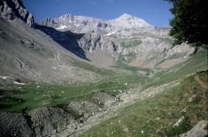 le Cimet (3020m) & le vallon de la Grande Cayolle, 1986