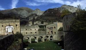 Vinadio, le fort dans lequel se déroule la foire de la Toussaint