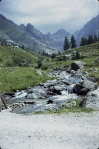 1975, le vallon de la Gordolasque