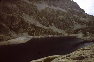 1982, Gordolasque, le lac Vert