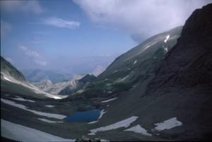 lac du Cimet (2589m), 1986