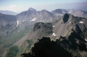 les lacs de Gialorgue (2483m), 1985