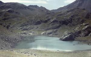 lacs de l'Encombrette (2336m), 1982