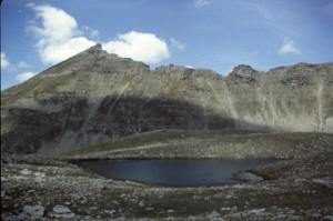 lacs de l'Estrop (2517m), 1982