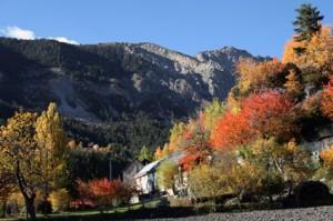 la Baumette l'automne, Péone 2012