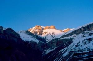 Cime Nègre au printemps, Péone 1994