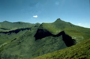 Cime Nègre vue de la Rocca Maïra, Péone 2002