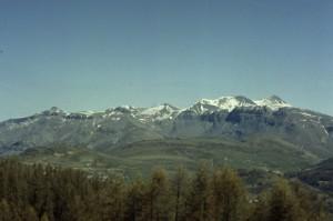 Cime Nègre & le Mont Mounier vus des Atres